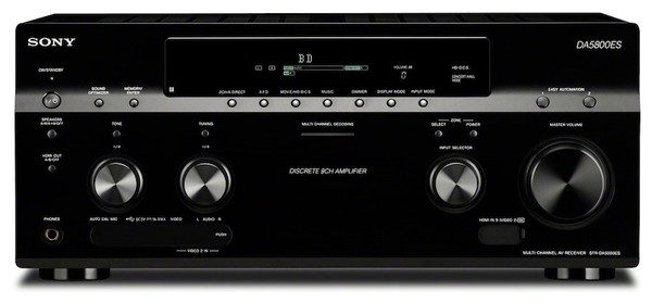 Sony str da5800es 9 2 звук 4к видео