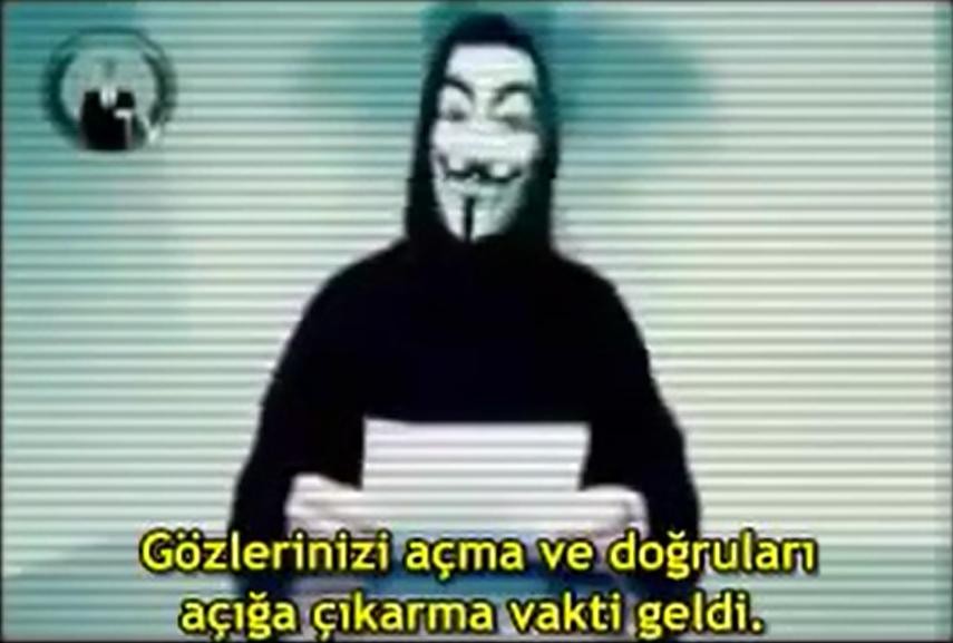 Хакеры из движения Anonymous взломали сайт Министерства юстиции Греции и ра