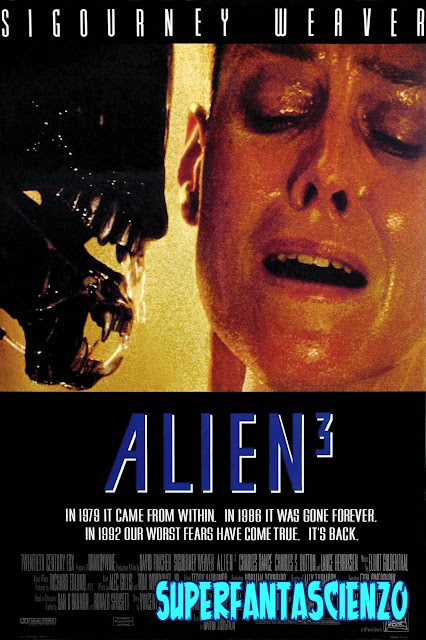 Alien 3 recensione poster