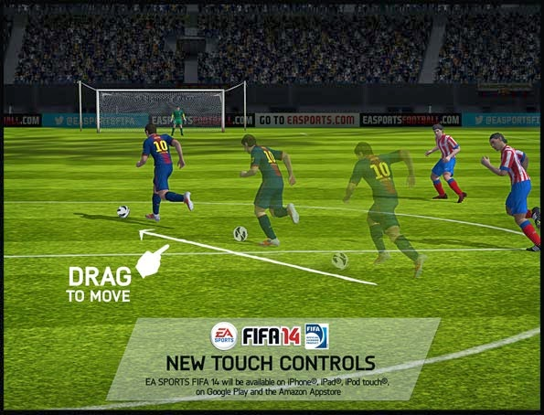 FIFA 14 by EA SPORTS 1.3.3 (UNLOCKED FULL) ANDROID + MOD Data