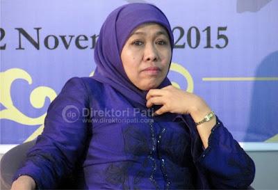 Foto Menteri Sosial RI Khofifah Indar Parawansa