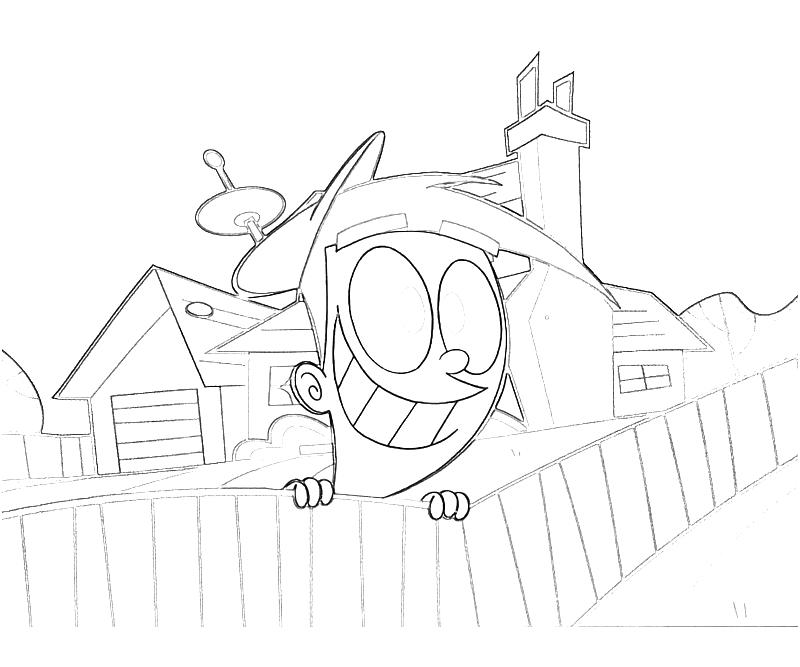 fairly oddparents printable coloring pages - photo#49