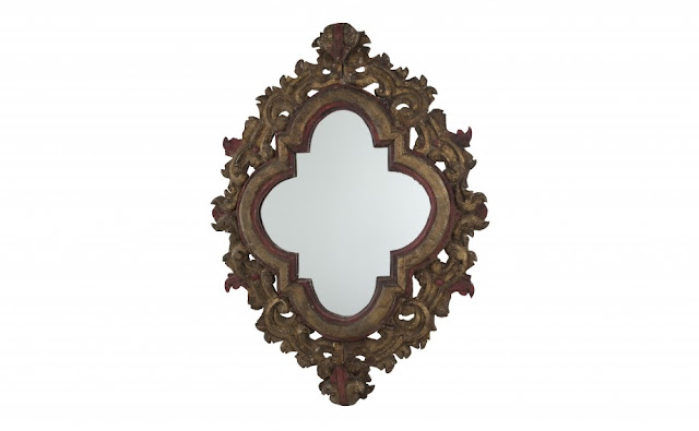 Vintage Spanish style mirror via Jayson Home as seen on linenandlavender.net