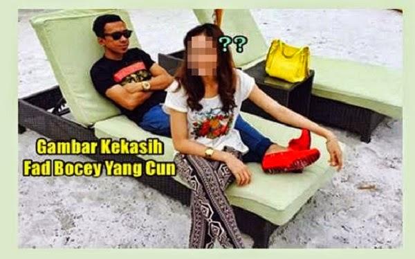 Gambar Kekasih Fad Bocey Yang Cun Melecun (11 Gambar) http://apahell.blogspot.com/2015/01/gambar-kekasih-fad-bocey-yang-cun.html
