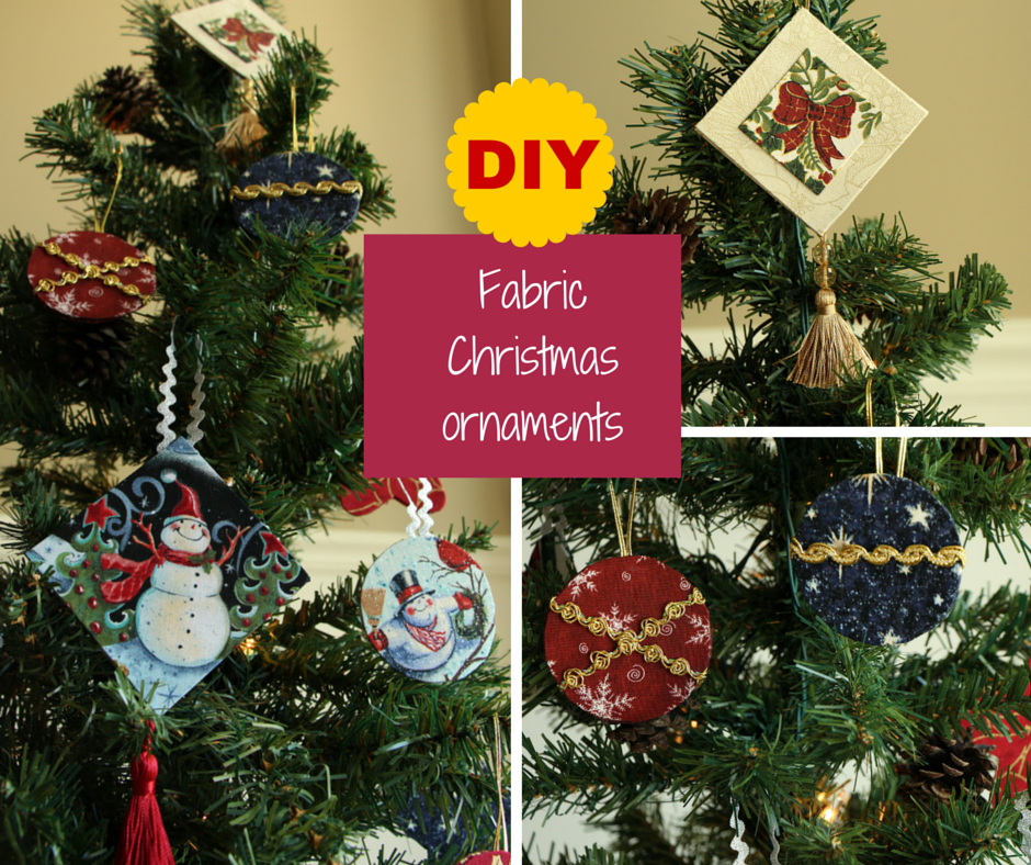 ColorWay Cartonnage: Making Fabric Christmas Ornaments