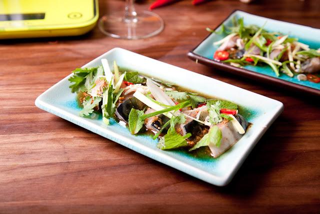 makrilli, sashimi