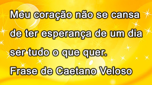 Frase Caetano Veloso