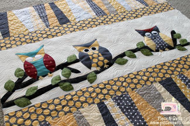 Piece N Quilt: Owl ~ Baby Quilt : owl quilt patterns - Adamdwight.com