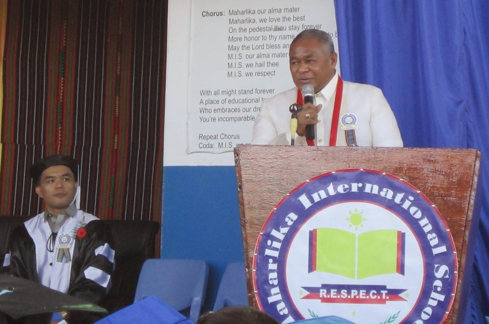 Maharlika International School: Minister of Education in Timor-Leste ...