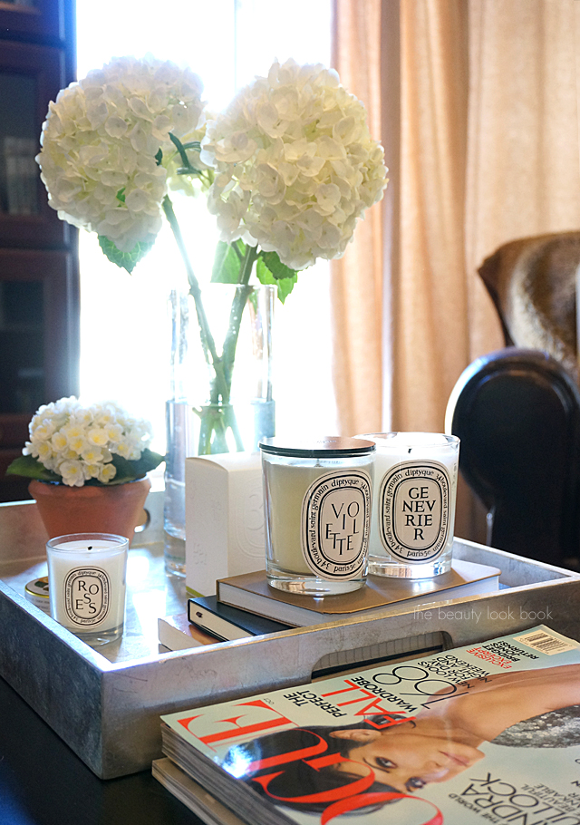 Diptyque Violette Genevrier Candles The Beauty Look Book