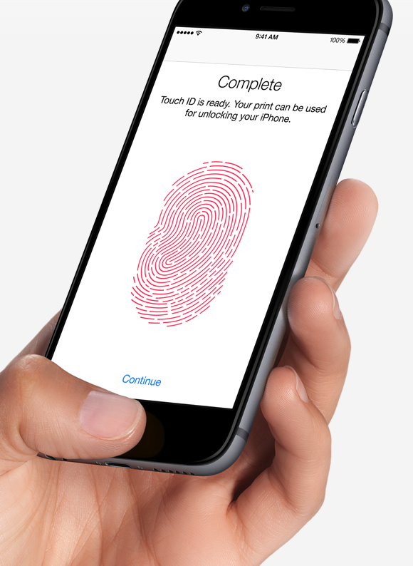 Touch ID Setting on your new iPhone 6