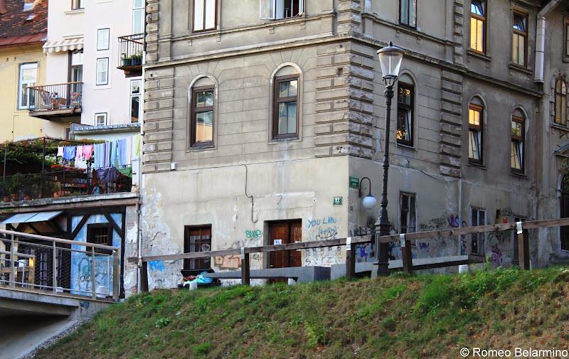 Graffiti Ljubljana Slovenia