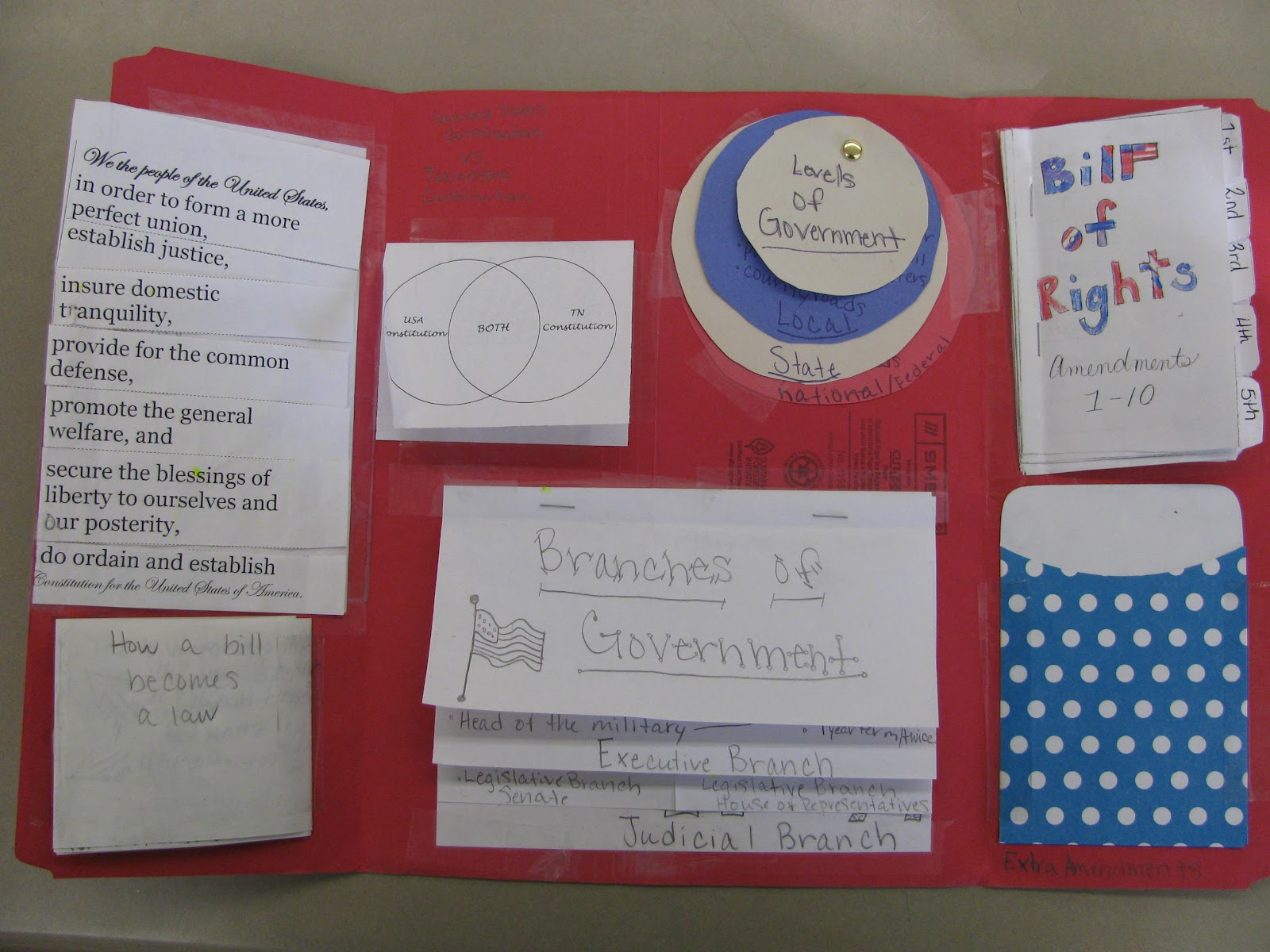Fifth Grade Follies: Government and Civics Lapbook