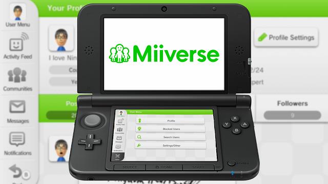 Nintendo confirma que Miiverse chegará ao 3DS muito em breve Miiverse+3ds