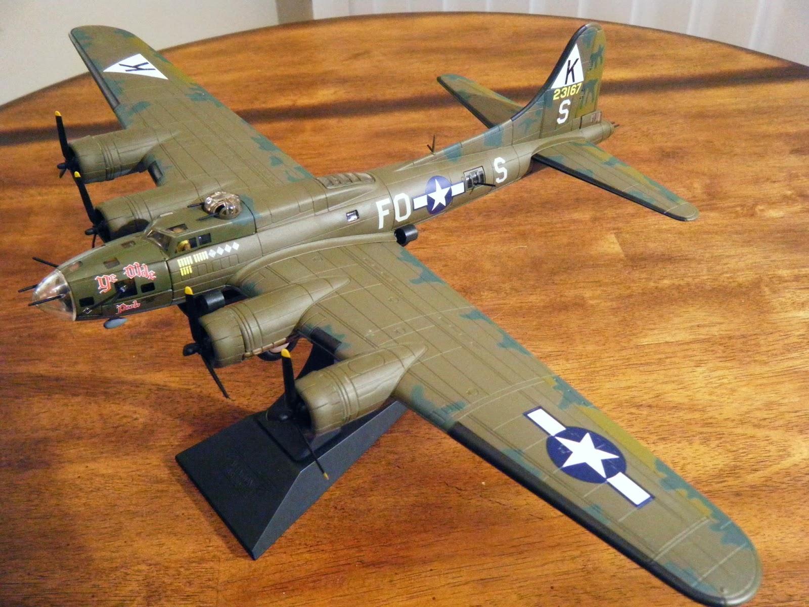 b 17 diecast 1 72 aircraft
