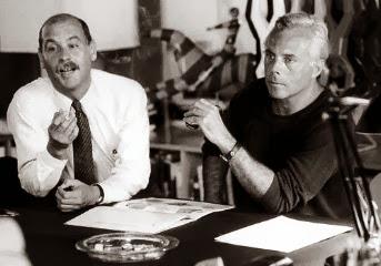 Giorgio Armani i Sergio Galeotti - lata 70-te