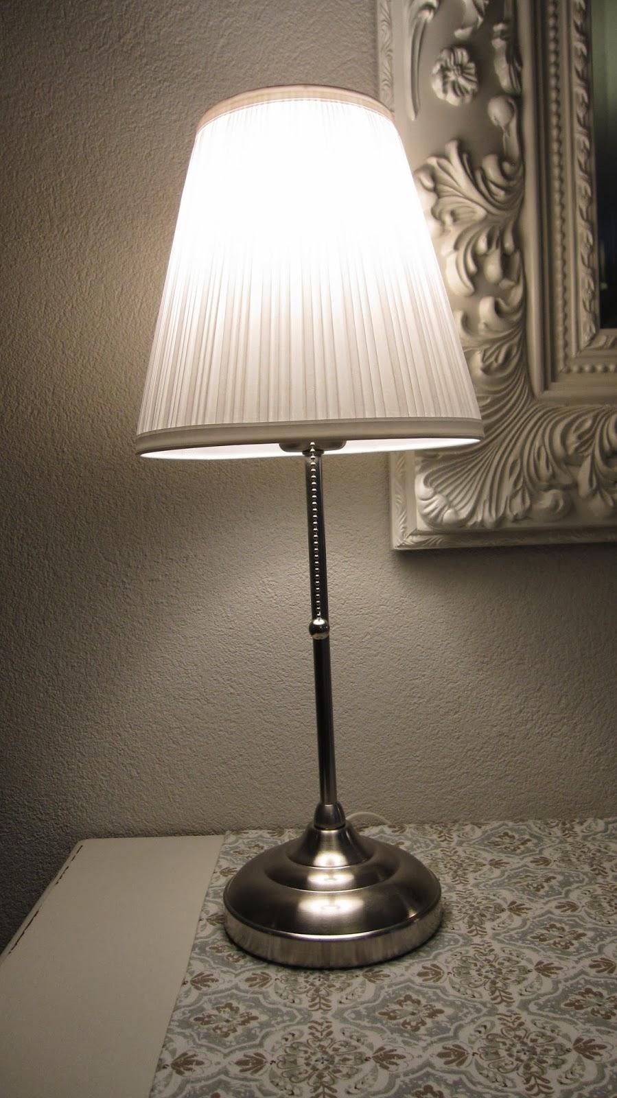 ikea wandleuchte arstid nernickelt wei schirm 16 cm d lampe wandlampe smash. Black Bedroom Furniture Sets. Home Design Ideas