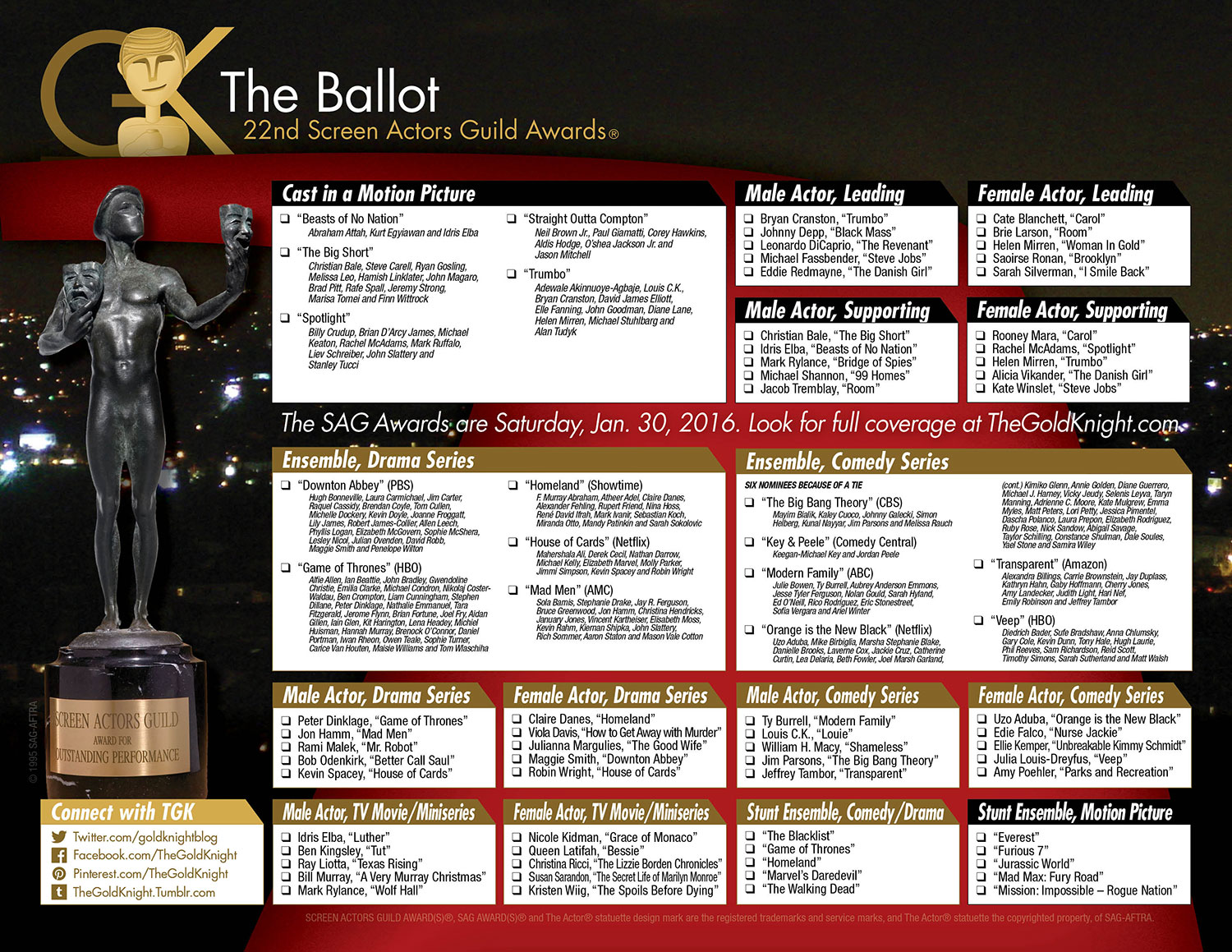 Printable Oscar Ballot besides 72038 100 Greatest Rock Tambourine Players together with Ct Oscars 2017 Ballot 20170224 Htmlstory additionally  further 2015 Golden Globe Awards Printable Ballot. on oscar ballot 2017 pdf