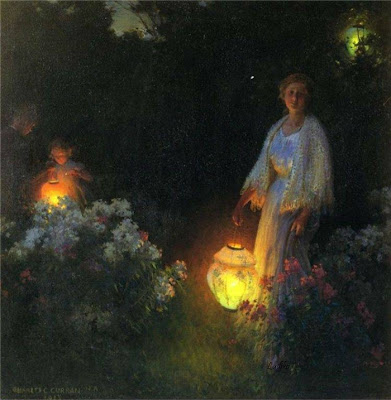Charles Courtney Curran 1861-1942 | pintor impresionista estadounidense