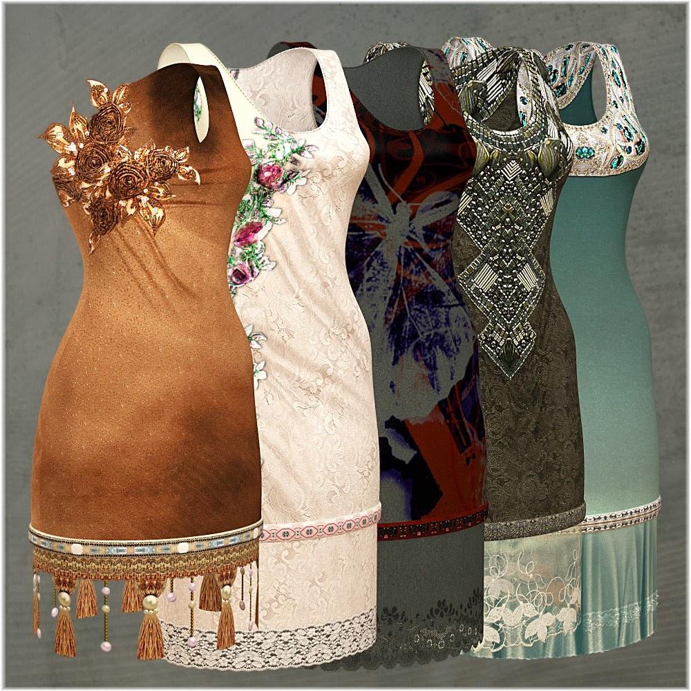 DAZ 3D - Hebe Outfit pour Genesis 2 Femme