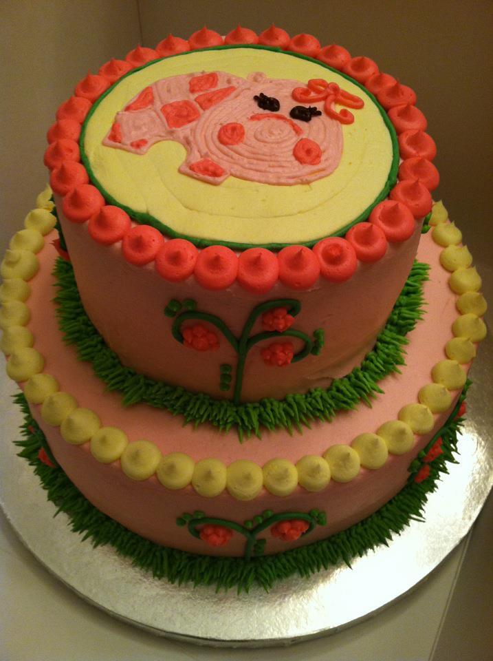 Sweet Treats By Susan Pink Hippo Birthday Cake