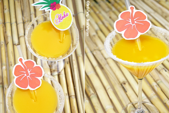 Bird's Party Blog: Hawaiian Tiki Luau Party: DIY Party Ideas + ...