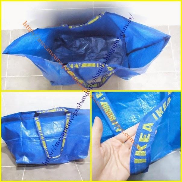 Bolsa de rafia Frakta, la bolsa reutilizable de Ikea