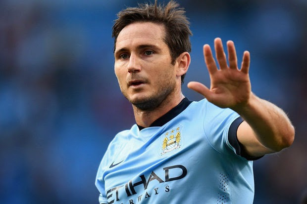 Frank Lampard scored against his former club to earn Manchester City