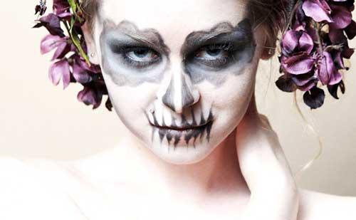 maquillaje de ojos para halloween