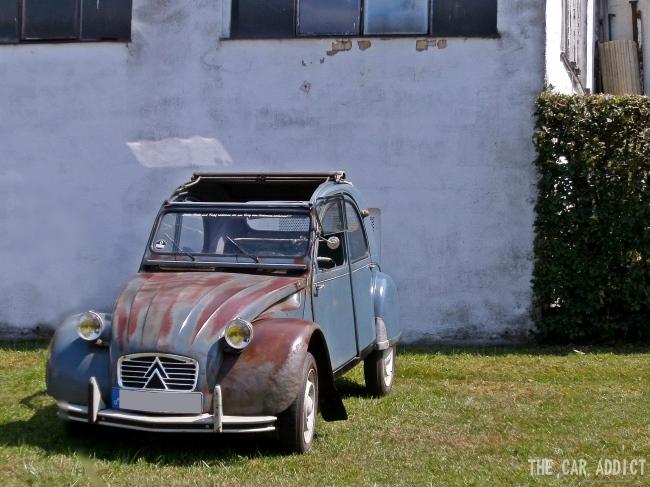 rusty Citroen