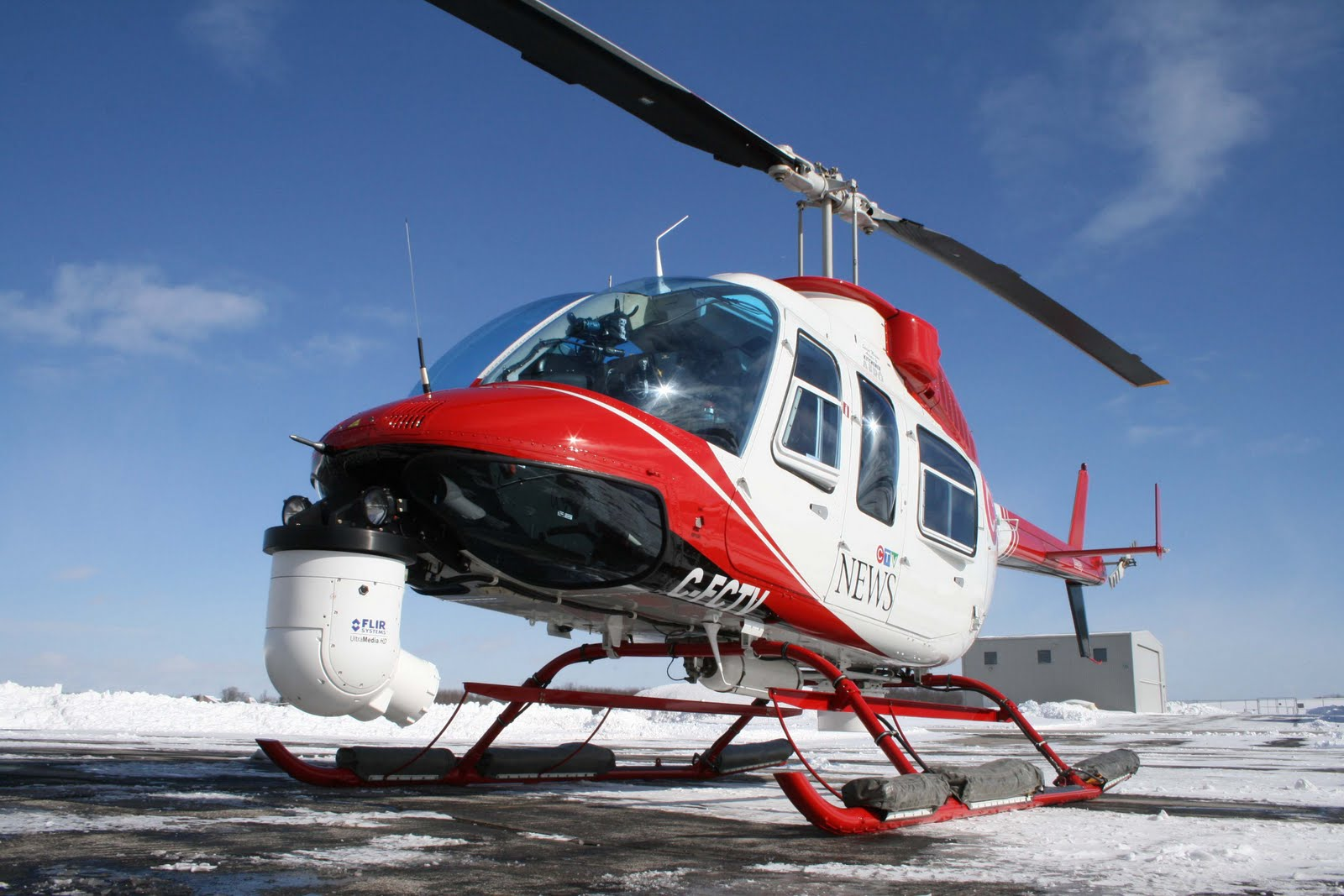 Avspot by R&R: Kitchener Aero\'s 4th ENG Helicopter for CTV
