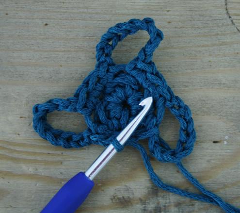 Crochet flip flops, round 2 - Free pattern | Happy in Red