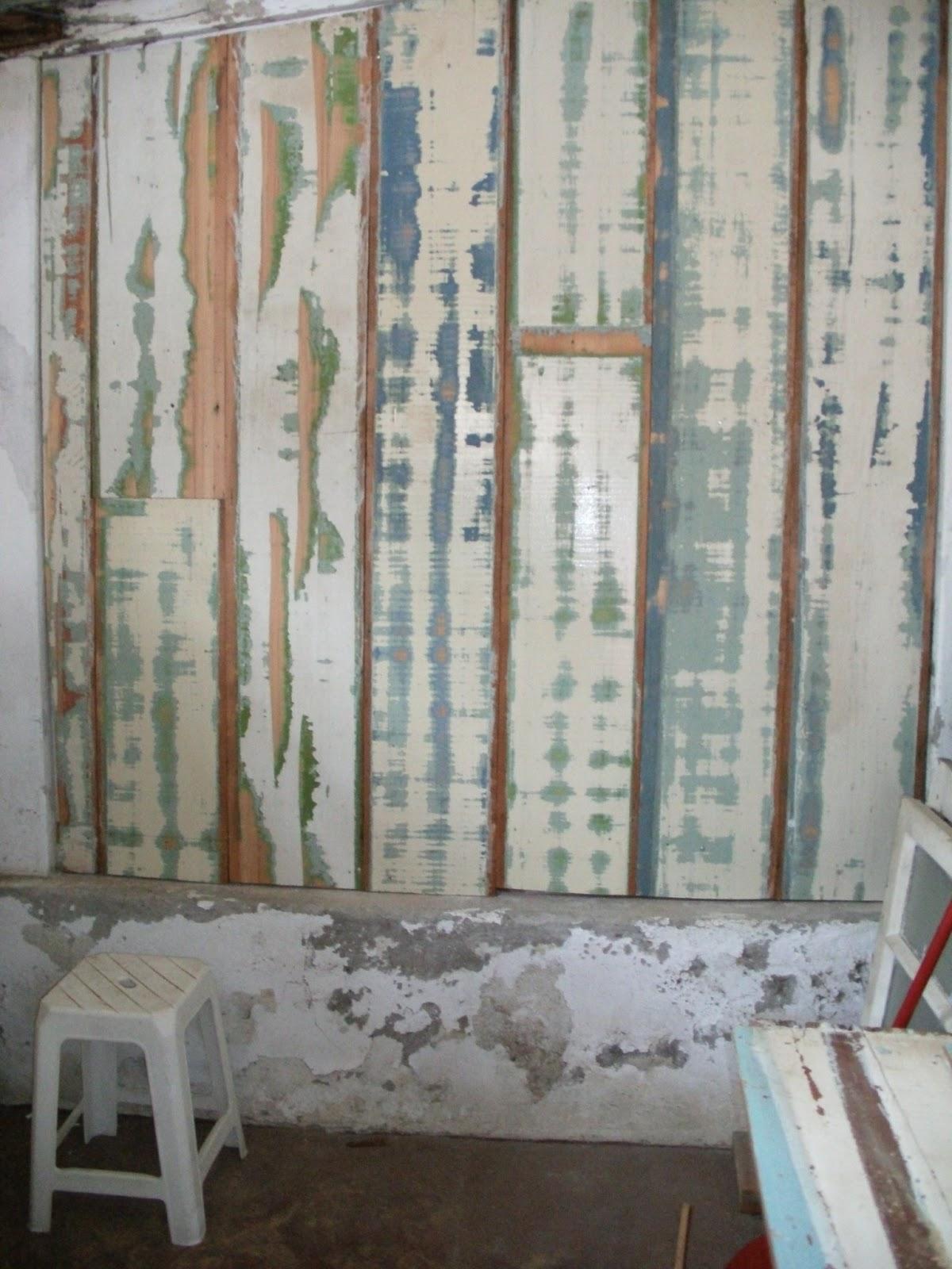 decorar sustentável: Painel de madeira na parede  #65493B 1200x1600