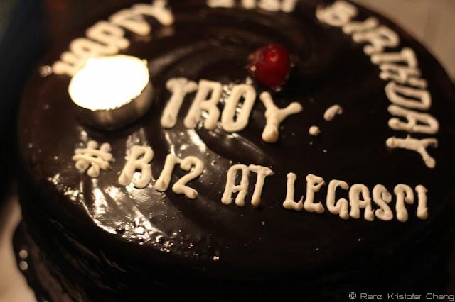 Troy Palanca's Birthday Cake