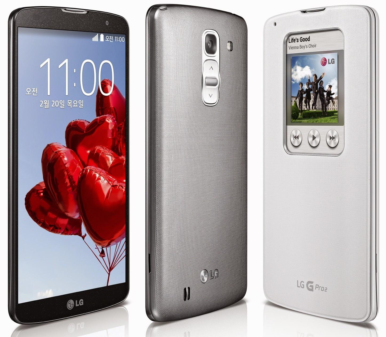 Spesifikasi Dan Harga LG G Pro 2, 16 GB