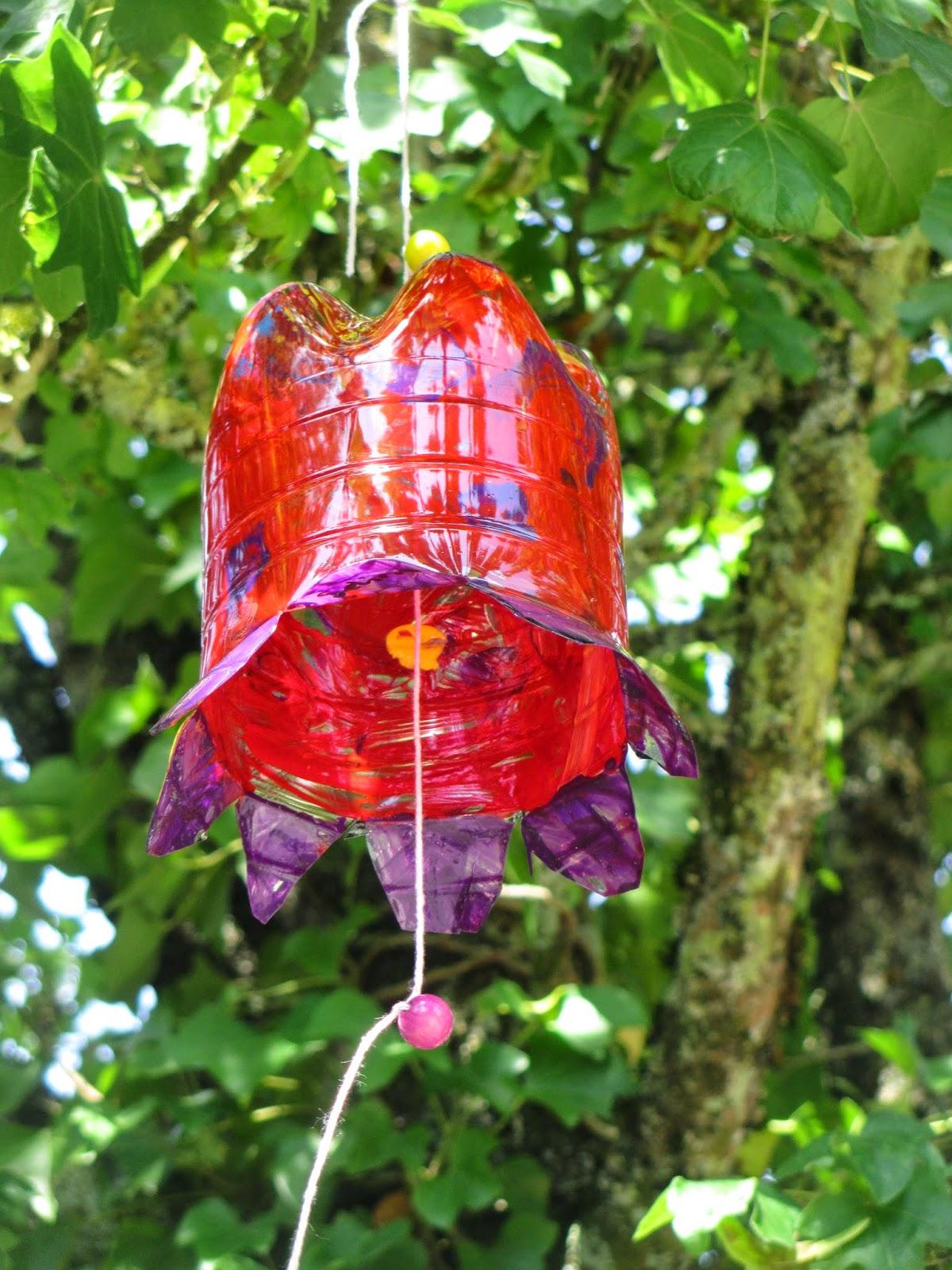 Petflaschenblumen