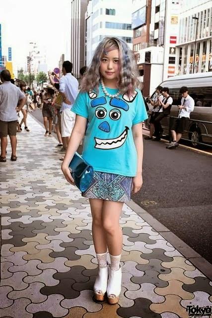 Baju-Baju Gaul ABG Jepang