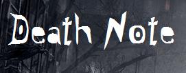 Death Note (EM CONSTRUÇÃO)