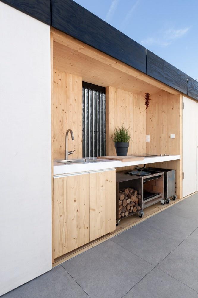 Living in designland inspiraci n cocinas exteriores Cocina exterior