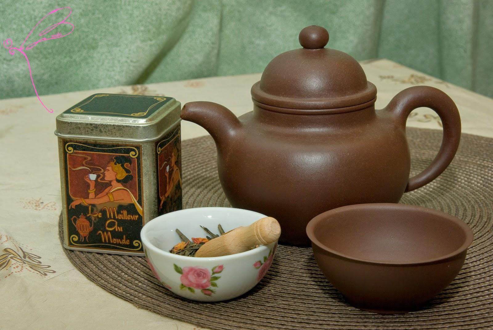 czajniczek do zielonej herbaty