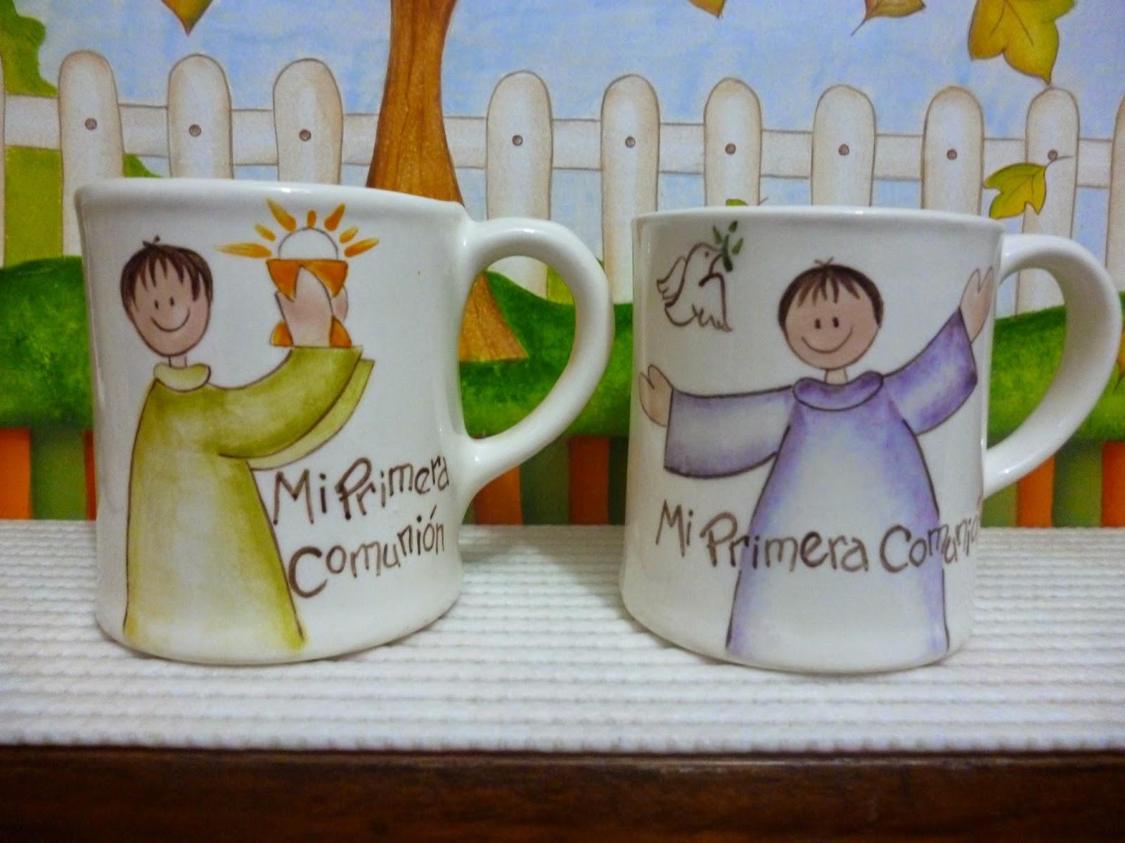 recuerdos de primera comunion en ceramica