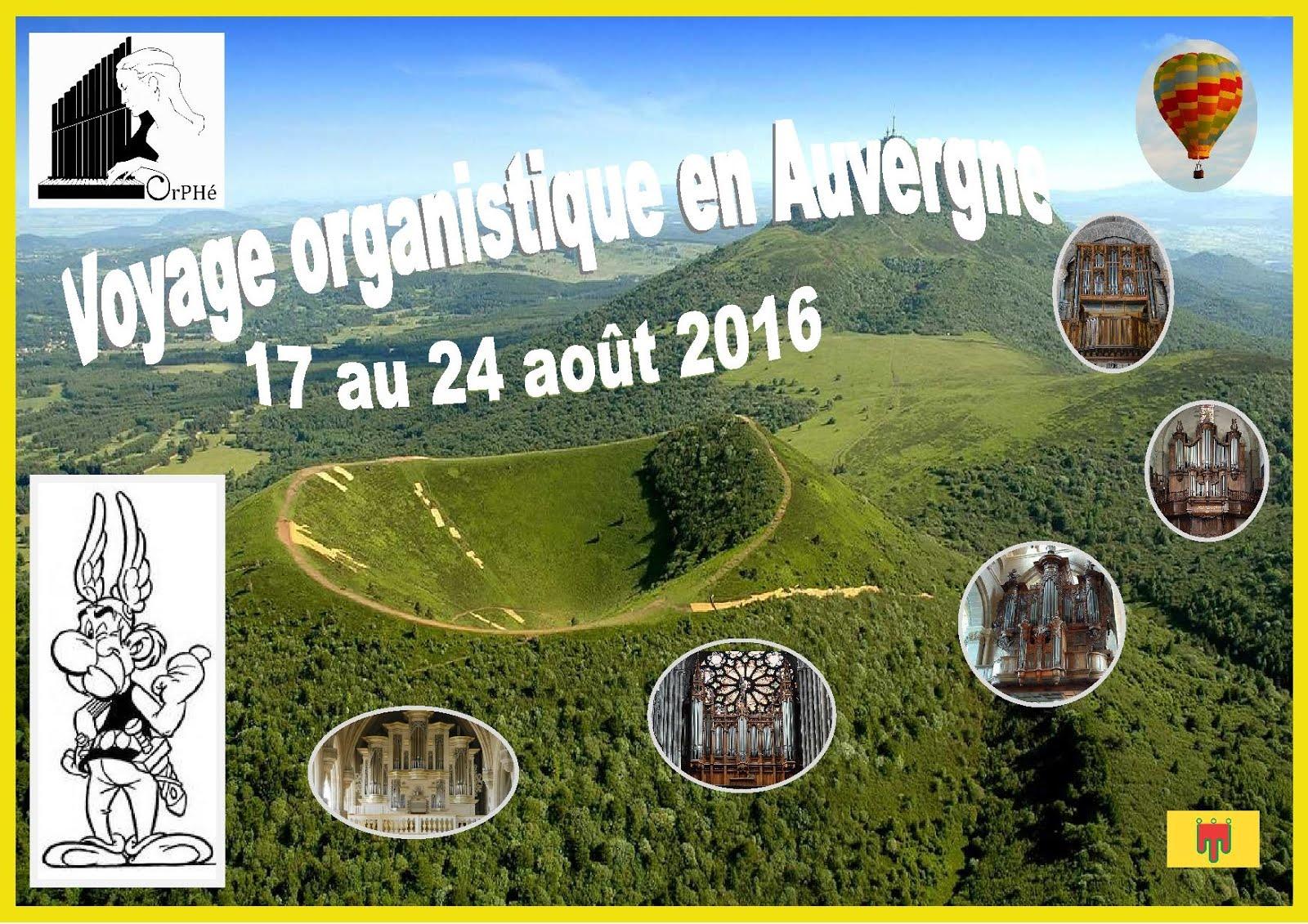Voyage organistique en Auvergne 2016