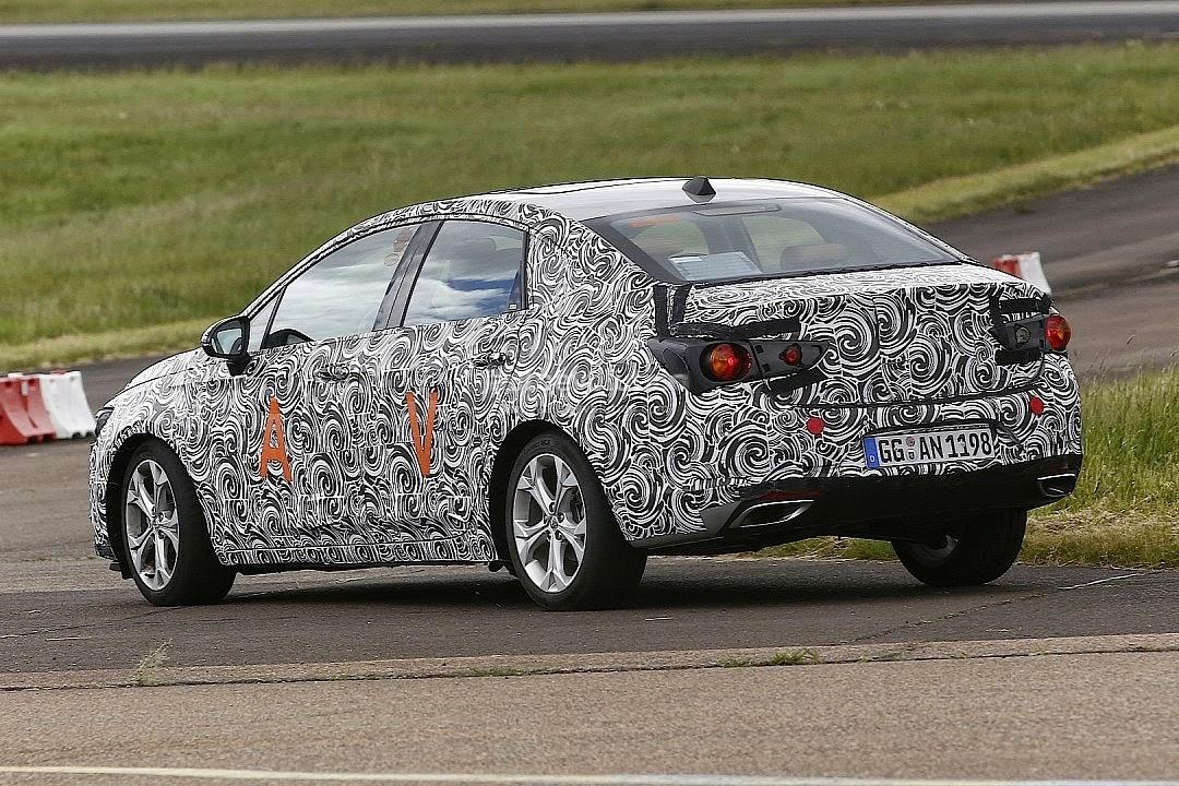 Spy Shots Next-Gen Buick Verano