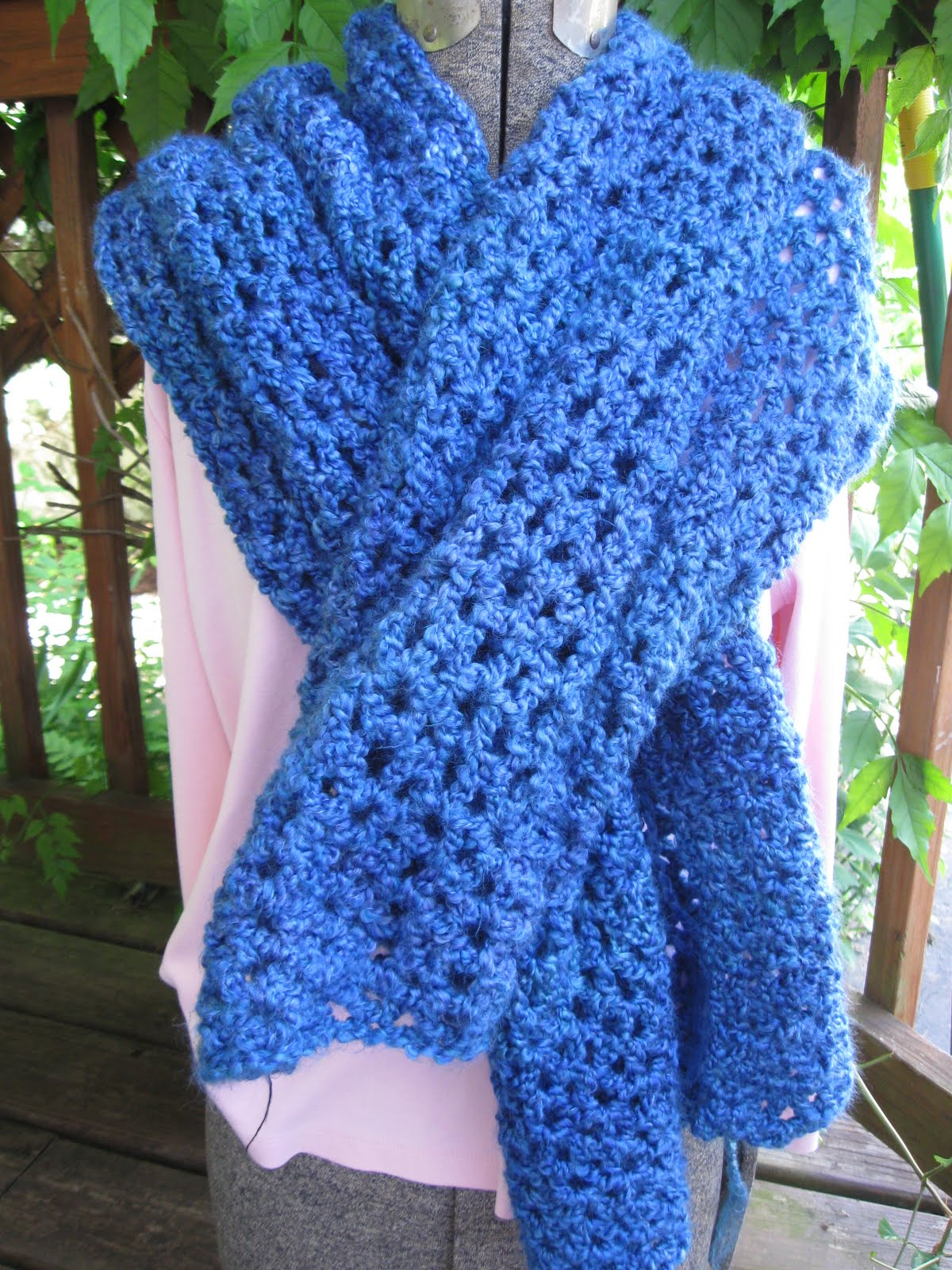 Crochet Knot Stitch Shawl : Celtic Knot Crochet: Gifts Edition - Hooked on Crochet Class Projects
