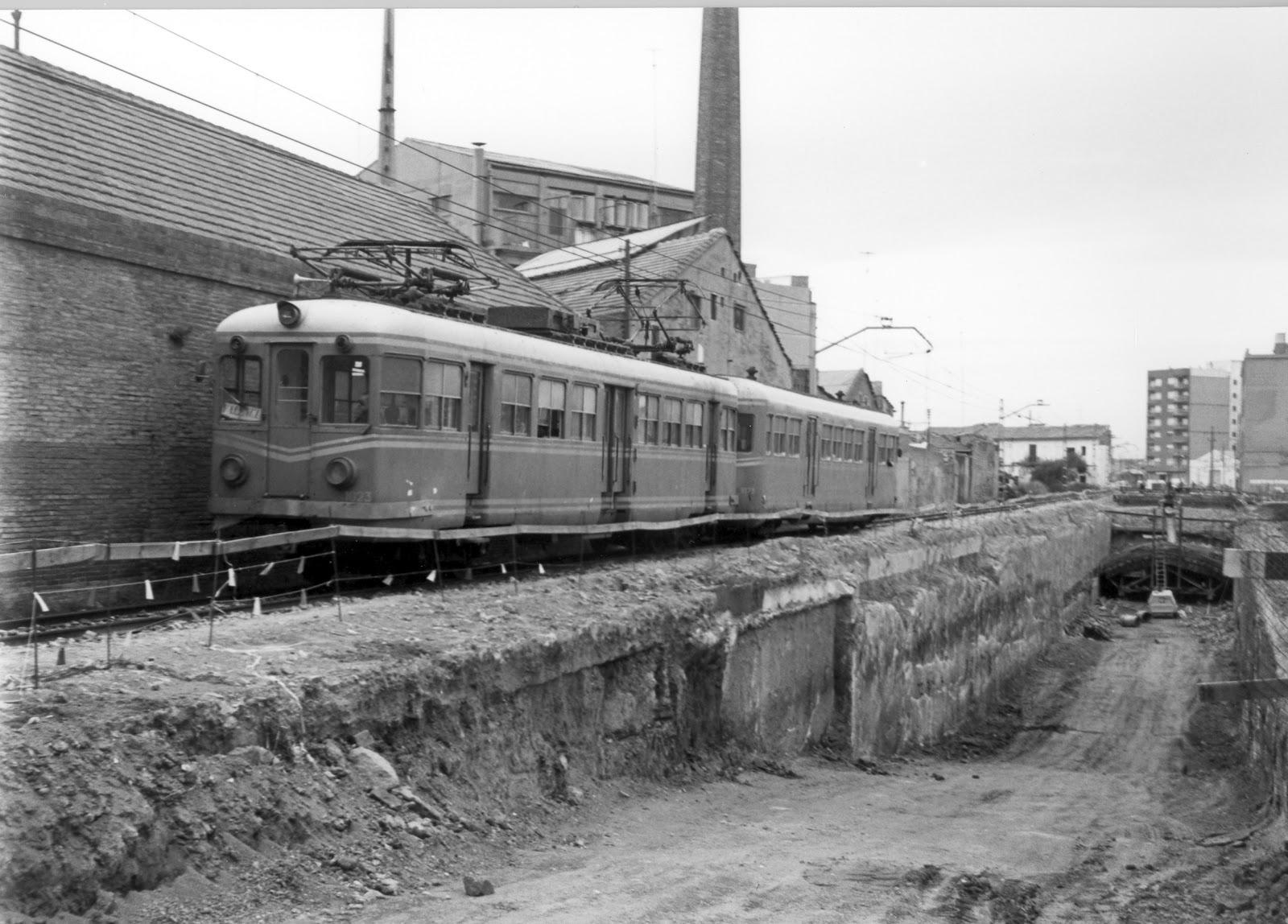 Historias del tren el trenet de la ribera - Material de construccion en valencia ...