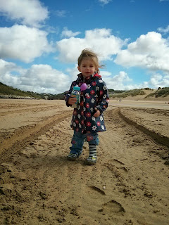 youngest on beach
