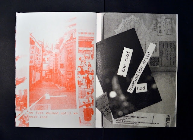 Tokyo, Japan, Zine, riso, risograph, screen print, publication, hand made, craft, travelling, traveling, exploration, adventure, travel blog, travel diary, graphic design