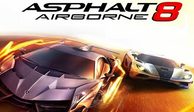 Asphalt 8 Airborne Full Android Game apk Free Download.