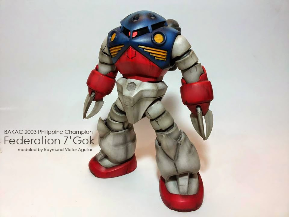 Federation Z'Gok modeled by raymund Victor Aguilar photo