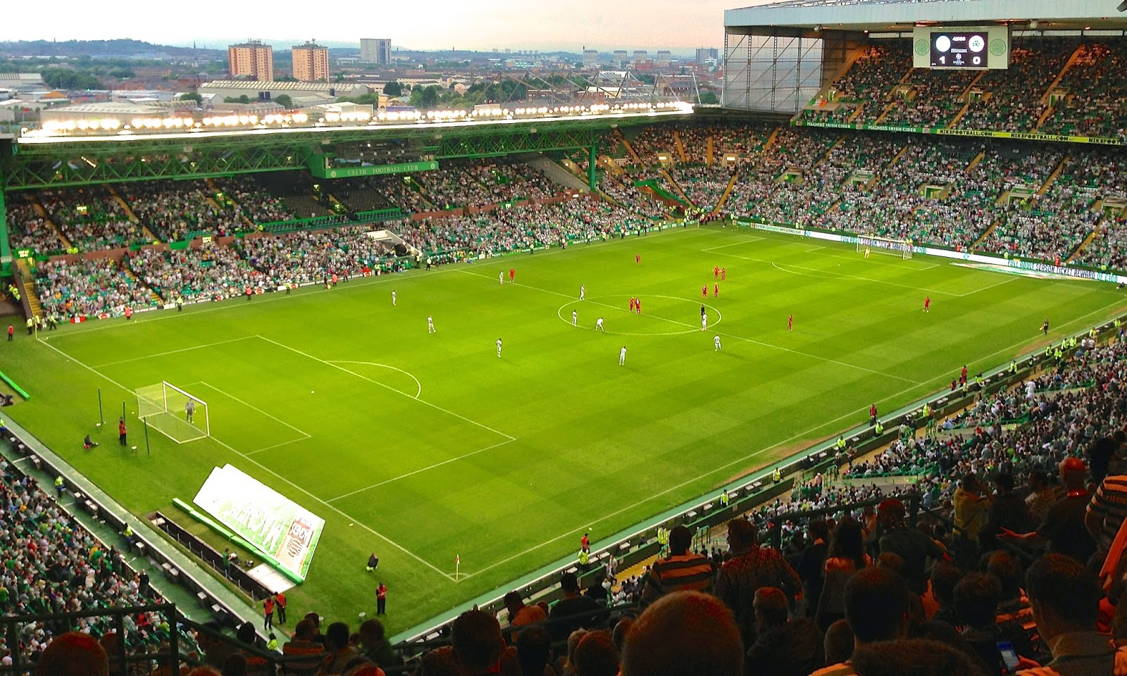 Celtic Park in Glasgow